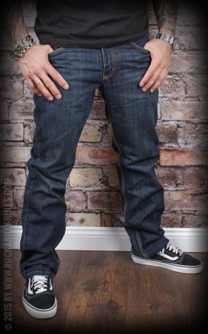 Carhartt - Straight Leg Jeans Slim Fit, rustic rinse