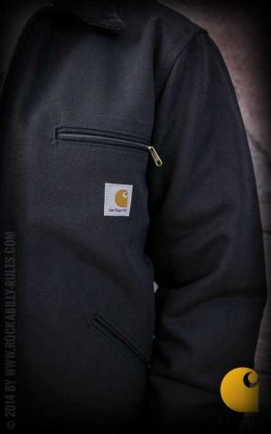 Carhartt - Jacket Duck Detroit, black