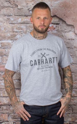 Carhartt - Outlast Graphic T-Shirt, gris