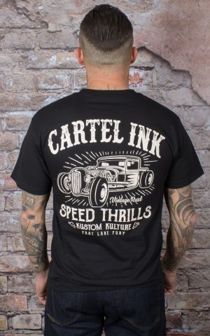 Cartel Ink T-Shirt Hommes - Speed Thrills