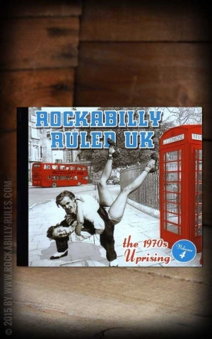 Sampler - Rockabilly Ruled UK ! Vol 4