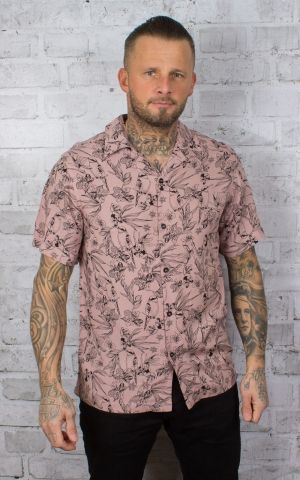 Chet Rock Hawaiian Shirt Bird Floral