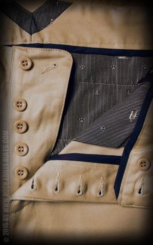 Rumble59 - Selvage Chino Shorts California