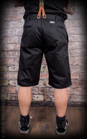 Rumble59 - Selvage Chino Shorts California - noir