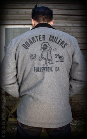 Rumble59 - Clicker Jacket - grey - Quarter Milers