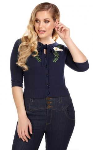 Collectif Cardigan Charlene Camelia