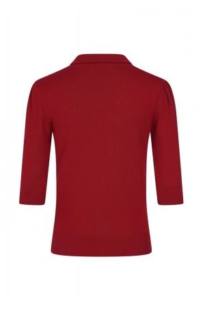 Collectif Ladies Shirt Jorgie Knitted Polo