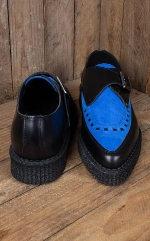Steelground Creeper - Blue Suede Shoes