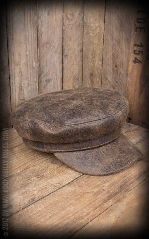 CTH Ericson - Casquette Dani Faux Sr. Leather Brown