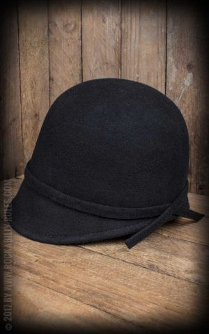 CTH Ericson Damen Hut - Analise Sr. Cloche, schwarz