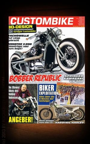 Custombike # April 2013