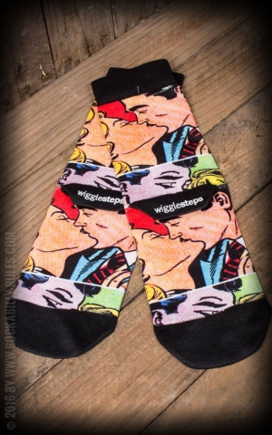 Strümpfe - Socken - Lady Socks Retro Kiss
