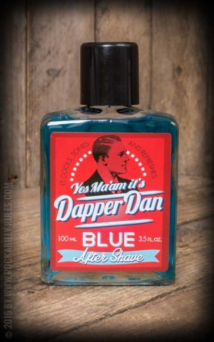 Dapper Dan - After Shave, blau