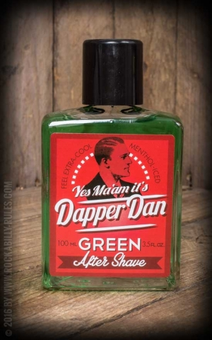 Dapper Dan - After Shave, grün