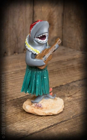 Dashboard Hula Sharky with Ukulele