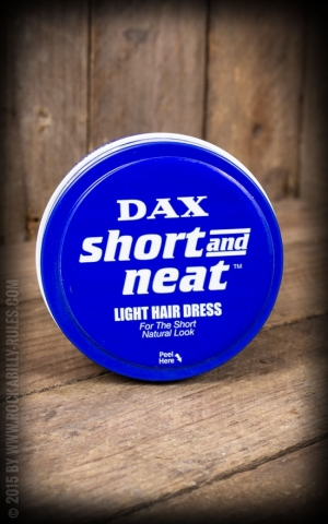 Dax Blue Short & Neat Pomade