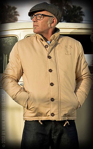 Rumble59 - Deck Jacket - beige