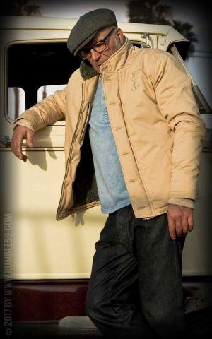 Rumble59 - Deck Jacket - beige