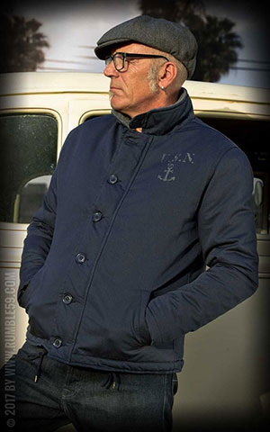 Rumble59 - Deck Jacket - bleu marine