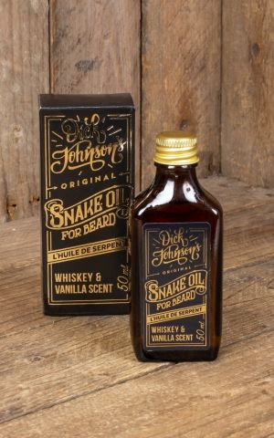 Dick Johnson beard oil Snake Oil, 50ml