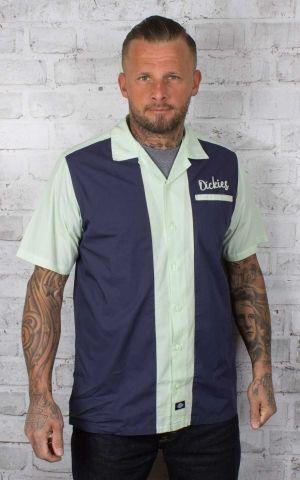 Dickies - chemise à manches courtes Pulsaki, bleu