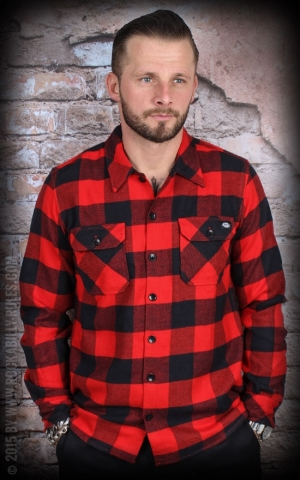 Dickies - Shirt Sacramento, red