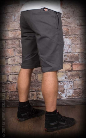 Dickies 11In Slim Straight Work Short, charcoal