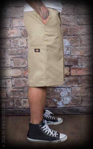 Dickies 13In Multi-Pocket Work Short Loose Fit, khaki