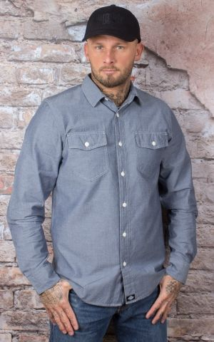 Dickies - Hallstead Shirt, blue