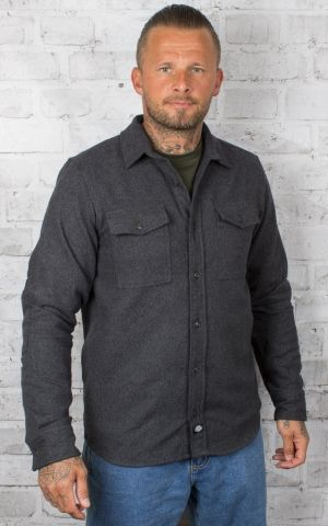 Dickies - Flannel shirt Delphia, dark grey
