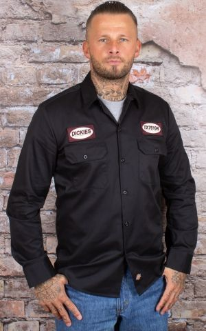 Dickies - Shirt Elliston, black