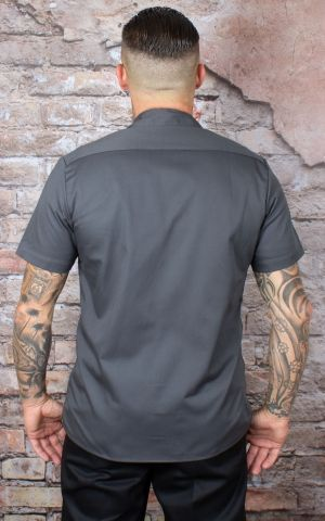 Dickies - Shirt Emory, charcoal grey