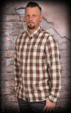 Dickies - Shirt Harrell, maroon