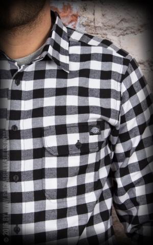 Dickies - Hemd Jacksonville, schwarz