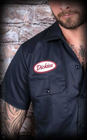 Dickies - Hemd Rotonda South, dark-navy