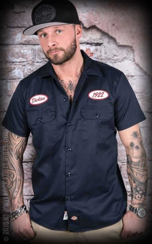 Dickies - Shirt Rotonda South, dark-navy