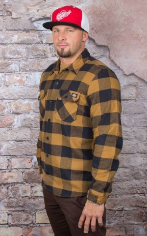 Dickies - Hemd Sacramento, brown duck