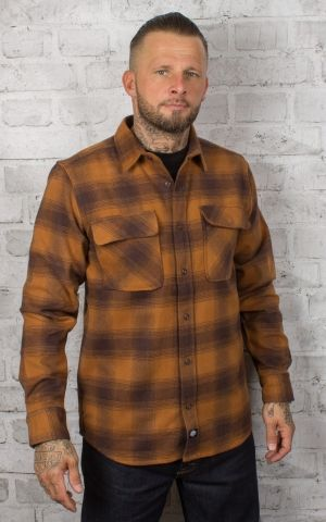 Dickies - Shirt Waneta, brown duck