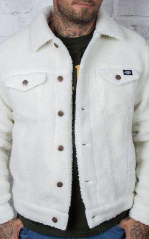 Dickies - Sherpa Unisex Jacket Cawood, ecru