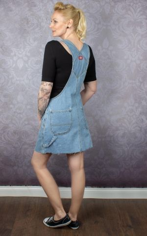 Dickies - Dress Hopewell Denim BIB, light bleach
