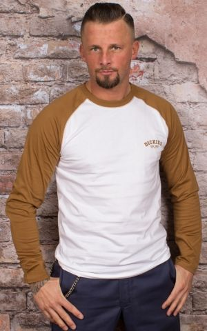 Dickies - Longsleeve Baseball, brown duck