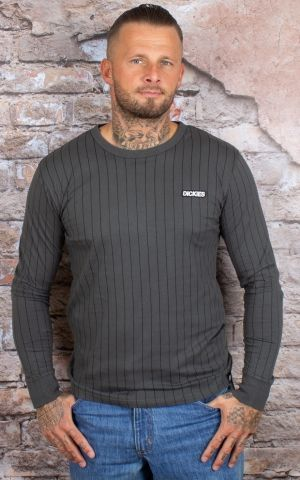 Dickies - Longsleeve Doswell, charcoal