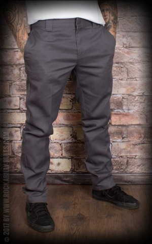 Dickies - Original 872 Slim Fit Work Pant, charcoal