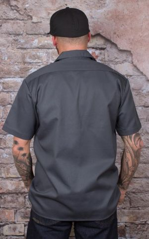 Dickies - Short Sleeve Work Shirt charcoal