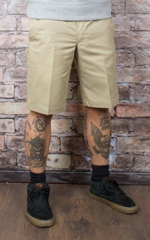 Dickies 11In Slim Straight Work Short, khaki