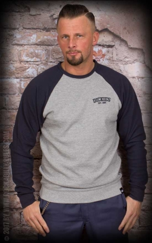 Dickies - Sweatshirt Hickory Ridge, navy