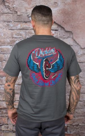 Dickies - T-Shirt Farnsworth, charcoal