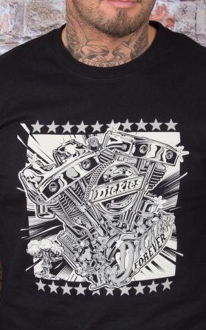 Dickies - T-Shirt Granger, schwarz