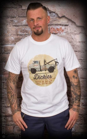 Dickies - T-Shirt Russellville, white