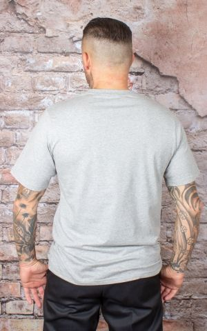 Dickies - T-Shirt Stockdale, grau meliert